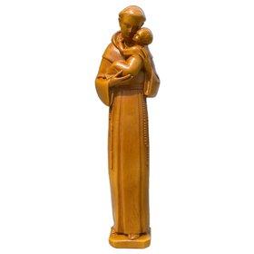 Statue de Saint Antoine de Padoue, 20 cm (Vue de face)