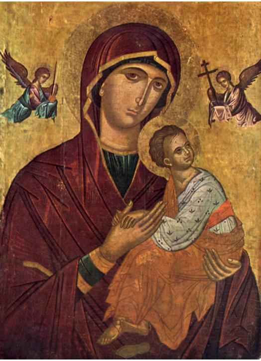Icône de Notre-Dame du Perpétuel Secours (M, G)