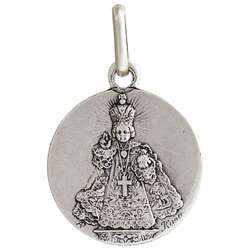 Medal of he Infant Jesus of Prague, metal - 15 mm