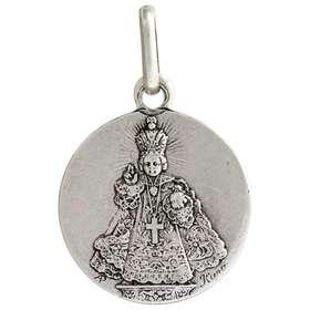 Médaille de l'Enfant-Jésus de Prague, métal - 15 mm