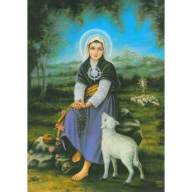 St. Germaine Cousin and the miracle of the distaff
