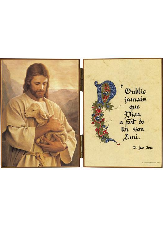 Le Bon Pasteur et une citation de saint Jean Chrysostome