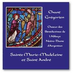 Sainte Marie-Madeleine et saint André