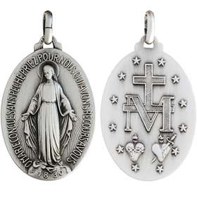 Miraculous medal - 42 mm
