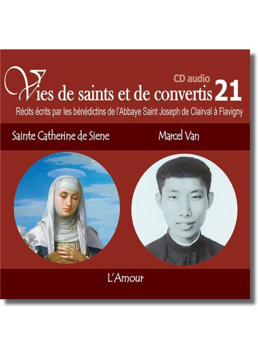 Sainte Catherine de Sienne et Marcel Van