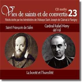 Saint François de Sales et cardinal Raphaël Merry del Val