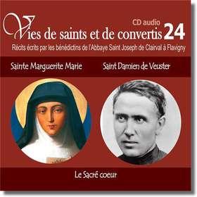 Saint Marguerite Marie et saint Damien de Veuster