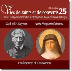 Cardenal Henry Newman et santa Marguerite Clitherow