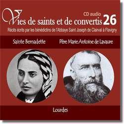 Saint Bernadette et Father Marie Antoine de Lavaur