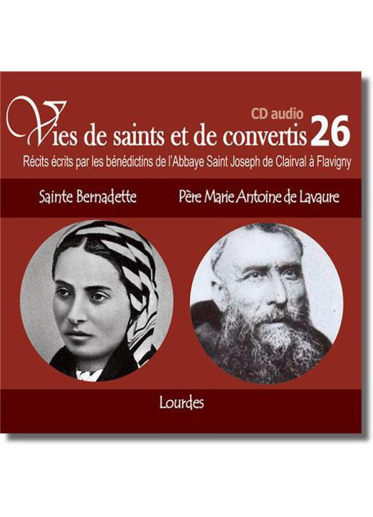 Sta. Bernadette et Padre Marie Antoine de Lavaur