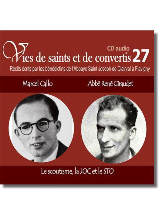 Blessed Marcel Callo et father René Giraudet