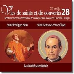 Saint Philippe Néri et saint Antoine Marie Claret
