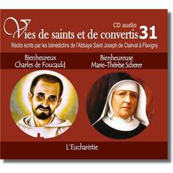 Blessed Charles de Foucauld et blessed Marie Thérèse Scherer