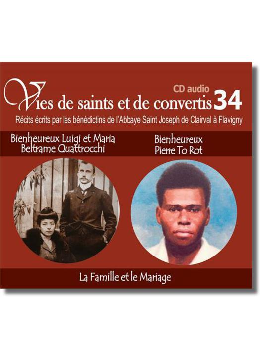 Blessed Luigi et Maria Beltrame Quattrocchi et blessed Pierre To Rot