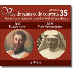 san François-Xavier et beata Hermine de Jésus