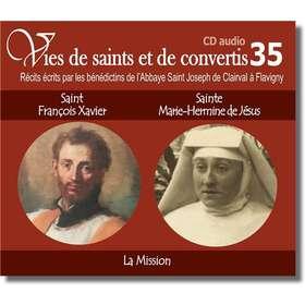 Saint François-Xavier et blessed Hermine de Jésus