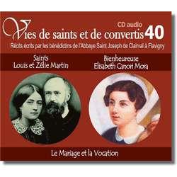 Saint Louis et Zélie Martin et blessed Elisabeth Canori Mora