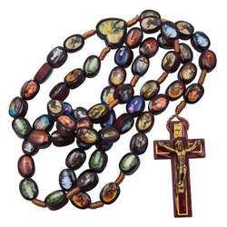 Rosary of the Marian apparitions (Le chapelet avec la croix)