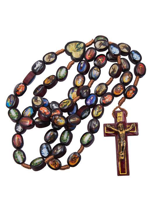 Rosary of the Marian apparitions (Le chapelet avec la croix)