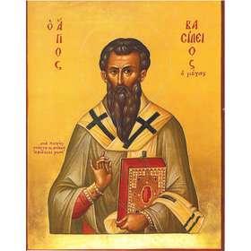 Icône de saint Basile le grand