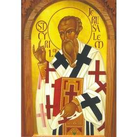 Icône de saint Cyrille d'Alexandrie