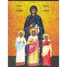 Icône de Sainte Sophie