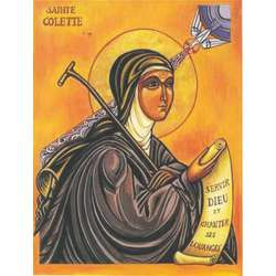 Icono de Santa Coleta (G)