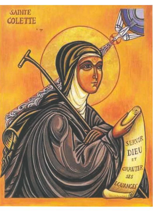 Icon of Saint Colette (G)