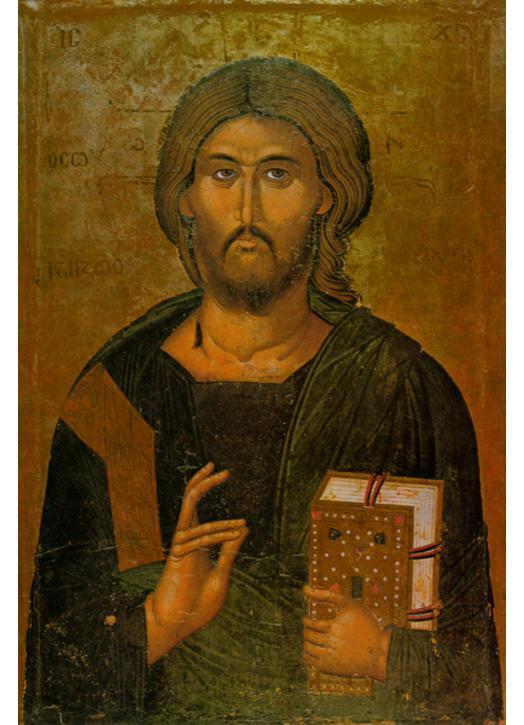 Icône du Christ-Sauveur (M, G)