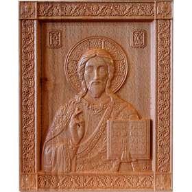 Bas-relief of Christ the Saviour