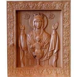 Bajo relieve de la Virgen del Sacerdocio