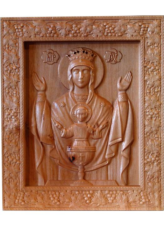 Bas-relief of Our Lady of the Priesthood