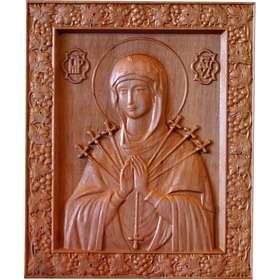 Bajo relieve de Nuestra Señora de Los Siete dolores