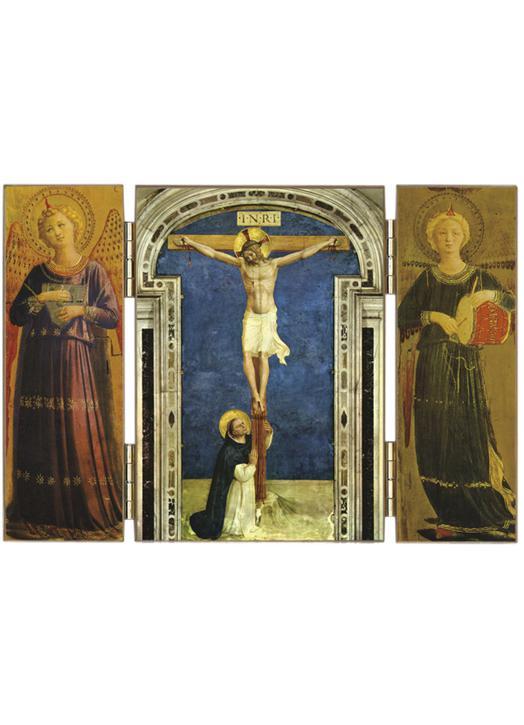 Le Crucifix et Saint Dominique