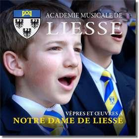 Vêpres et œuvres à Notre-Dame de Liesse (Jaquette de présentation)
