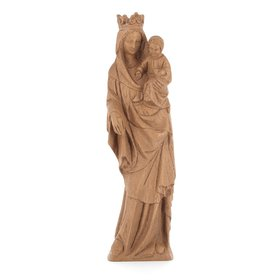 Statue of the crowned Virgin Mary, 28 cm (Vue de face)
