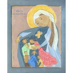 Icône de Marie, Protectrice des Familles