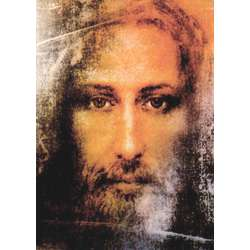 Rostro de Jesús en el Sudario