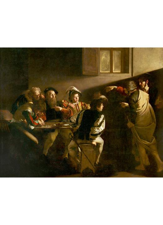 Icoon van de roeping van St. Matthew