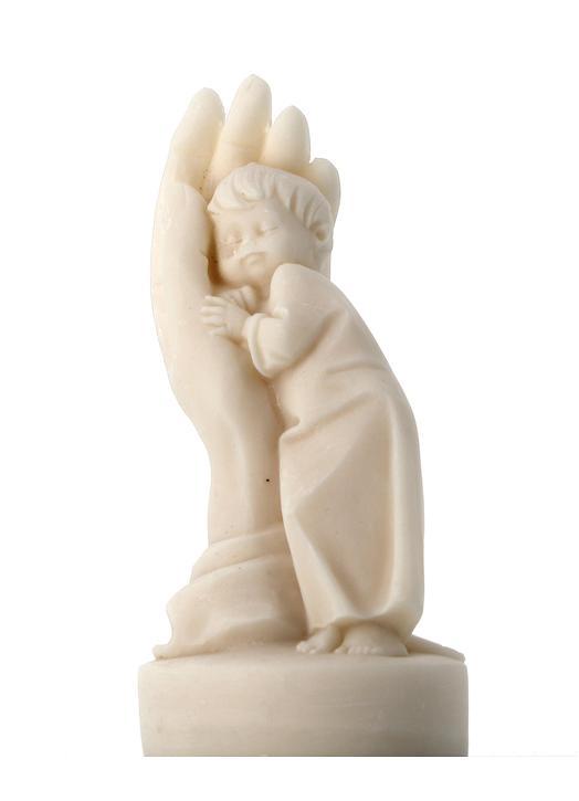 Statue main de la Providence, 11 cm (Vue de face)