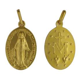 Miraculous medal - 17 mm