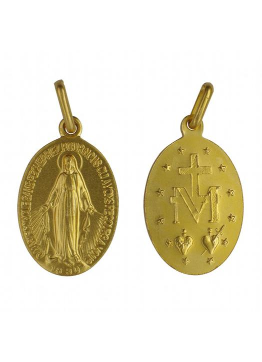 Miraculous medal - 17 mm
