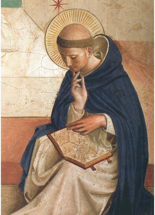 Ikoon van De H. Dominicus (M)
