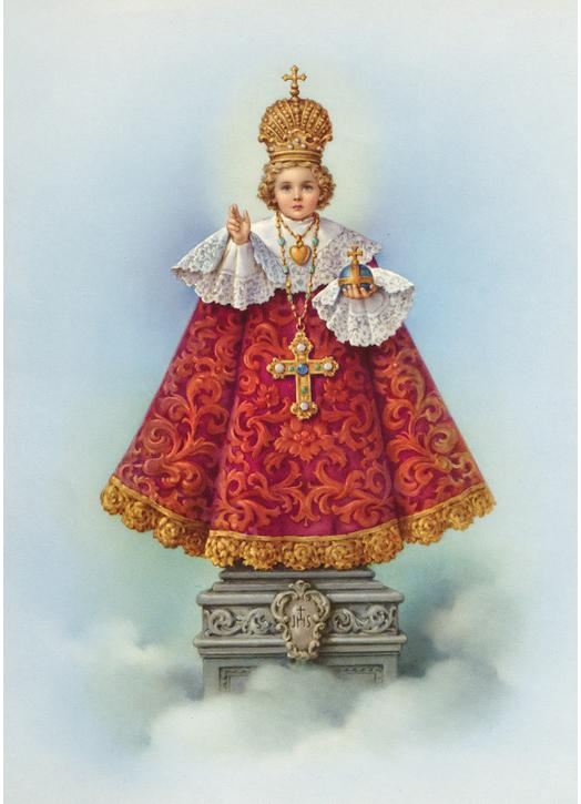 Icon of the Infant Jesus of Prague