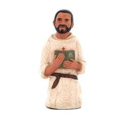 Statue of Blessed Foucauld - 16 cm (Vue de face)