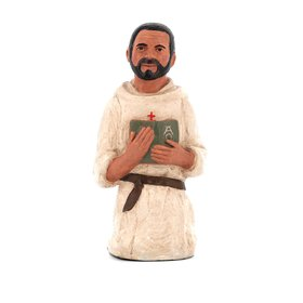 Statue of Blessed Foucauld - 16 cm (Vue de face)