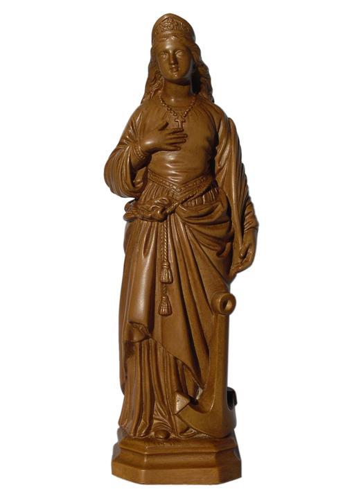 Statue of Saint Philomena - 20 cm (Vue de face)