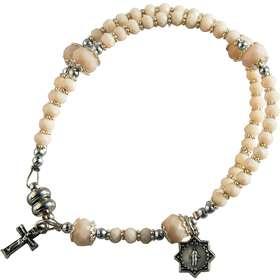 Bracelet chapelet de première communion