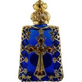 Botella de vidrio de Bohemia (Vue de face)