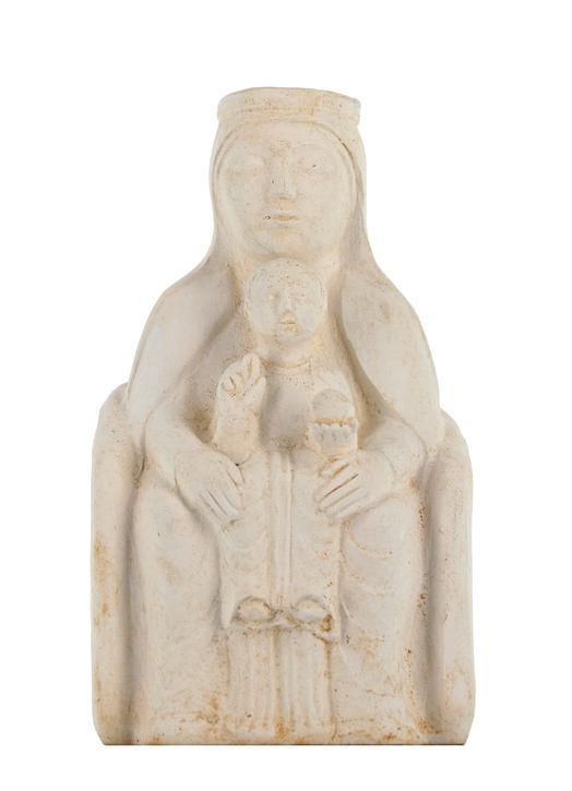 Miraculeuze beeldje van Onze-Lieve-Vrouw van Etang, 13 cm (Vue de face)